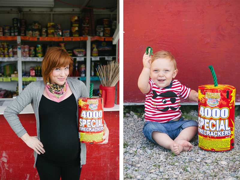 9b6d3b83528a3 It all started 2 years ago when I used the firework stand as my backdrop  from my WEEK 39 blog post for my weekly maternity series.